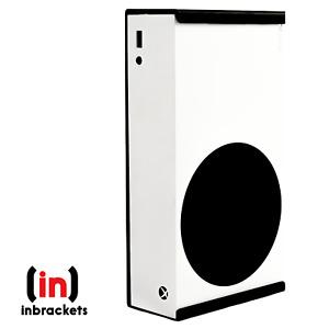 Xbox Series S wall mount bracket - STURDY Black Steel - quick install - UK Made