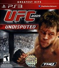 UFC UNDISPUTED 2009 PS3 Greatest Hits