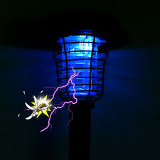 New listing Led Solar Lights For Outdoor Garden Yard Uv Mosquito Bug Zapper Killer Lawn Lamp