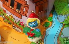 20153 Schtroumpfette mere noel cadeau smurf puffo puffi schtroumpf pitufo T.Rare