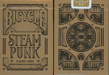 Bicycle STEAM PUNK deck by Theory11 - Playing Cards steampunk USPC POKER size