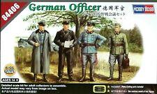Hobbyboss 1:35 German Officer Figures WWII Era Model Kit