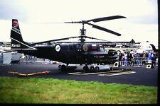"""4/442-2  Kamov Ka-50 """"Black Shark"""" Russian Air Force Kodachrome SLIDE"""