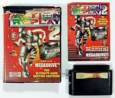 Datel ACTION REPLAY PRO 2 Mega Drive dt. PAL Ovp CIB Schummelmodul/Cheats
