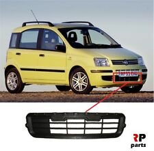 FOR FIAT PANDA 03 - 12 NEW FRONT BUMPER LOWER GRILL BLACK WITHOUT CONDITIONER