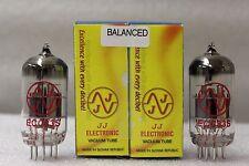 ECC83 JJ Matched and Balanced Pair 12AX7 E83CC 7025