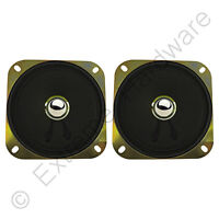 "2 x 4""/10cm Arcade Machine Game Cabinet Speakers 5W (8 Ohm) MAME, JAMMA, Coin-Op"