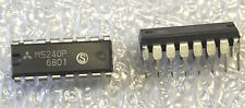 2pc- pair IC M5240P DUAL LOW-NOISE J-FET INPUT OPERATIONAL AMPLIFIERS 16 pin