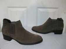 PAUL GREEN WOMEN'S CARLY EARTH SUEDE ANKLE BOOTIES PG SIZE 5.5 US 7 RETAILS $448