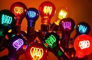Light Bulbs - A19 LED 4-Coil Light Bulbs - Color Variety