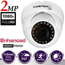 1080p FULL HD CCTV DOME CAMERA 2MP Indoor/Outdoor NIGHT VISION 30M IR 3.6mm LENS