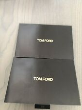2x Tom Ford Traceless Soft Matte Foundation Sample Card with 4 Shades new sealed