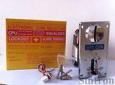 elektronischer Münzprüfer 738C Kirsche Master-Arcade-Spiel für Euro-Münzen Token