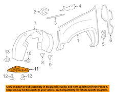 Chevrolet GM OEM Front Fender-Liner Splash Shield Panel Cover Right 22782946