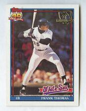 FRANK THOMAS 1991 TOPPS BASEBALL #79 DESERT SHIELD CHICAGO WHITE SOX HOF