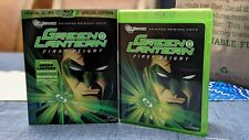 Green Lantern First Flight Special Edition Blu-Ray with OOP Slipcover DCU