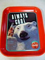 Coca Cola Coke tray Always Cool 1993 Excellent condition