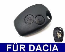 2T Ersatz Schlüssel Gehäuse + Batteriekontakt für Dacia Duster Sandero Logan