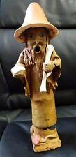 "Rare 10"" Wizard / Sorcceror Figurine Handmade one of a kind authentic unique"