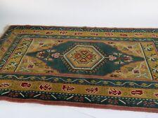 """Vintage Persian Wool Rug 27.5"""" x 58"""""""