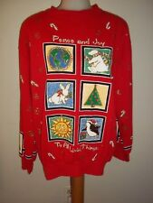 Ugly Christmas Sweatshirt - by Holiday Time, NWT   #WT19