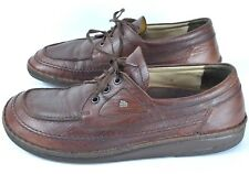 Finn Comfort Mens Brown Leather Lace Up Shoes Oxford Sise 44 US 10 10.5 Germany