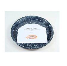 Teglia pizza rotonda cm 30 porcellanata acciaio forno antiaderente tonda - Rotex