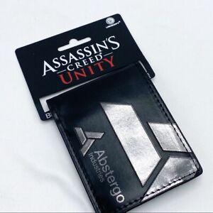 Assassins Creed Unity Black Bifold Wallet NWT