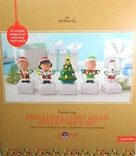 Peanuts Gang Christmas Light Show Collector's Set - 50th Anniversary - NEW