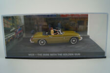 Voiture Miniature 1:43 James Bond 007 MGB * L'Homme au d'or COLT Nº 19