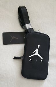 Air Jordan  Lanyard/ Pouch For  Smartphone Black New With Tags