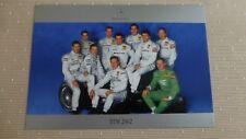 DTM Fahrer MERCEDES 2002  Grosse Karte mit allen Fahrern