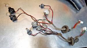 93 94 Ford Probe GT SE Tail Brake Turn Light Lamp Wire Harness Bulb Socket SET