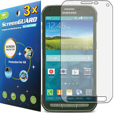 3x Clear LCD Screen Protector Guard Cover Film for Samsung Galaxy S5 Active G870