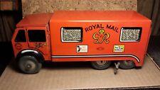 "Vintage   Mettoy   Tin Windup   10"" Van ""Royal Mail""   Great Britain   Very good"
