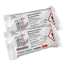 4 Genuine Bosch Descaling Tablets For Tassimo Bosch Siemens Neff Coffee Machine