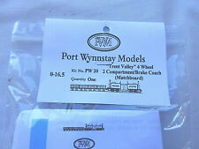 More details for port wynnstay on30 scale 4 wheel coach kit pw20 [sealed]