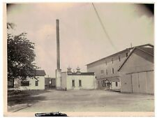 Vintage 1930s  B&W Photo West Bend WI Cannery Exterior View #2