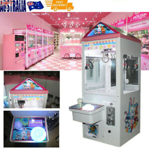 Mini Claw Crane Machine Candy Toy Catcher Grabber Carnival Iron Roof 2020 New