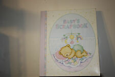 New Teddy Time  Baby Scrapbook Album by Amscan