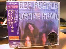 24K Gold CD WPCR-10192 Deep Purple Machine Head Japan Sealed 1999