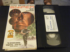 Sniper (VHS, 1993, Closed Captioned)