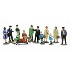Dapol C008 Platform Figures Unpainted (Set of 36)