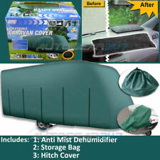 Jusqu'à 14ft Maypole Mp9531 Vert Respirant UV 4 plis Caravane attelage Housse &
