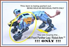 Transformers Energon _ Command Ravage _ Left Front Panther Leg / Robot Arm