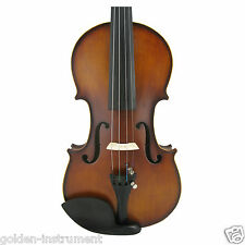 1/2 Fiddle Student Violin Full Size Natural Acoustic Violin Carefully Handmade