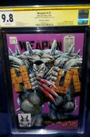 Weapon H #1 CGC 9.8 KRS Exclusive ~*SIGNED*~ Kirkham Variant EXTREMELY rare HULK
