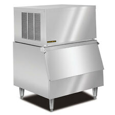New KOLD-DRAFT Modular Ice Machine 320Lb Stainless Steel Full Ice Cube GT360
