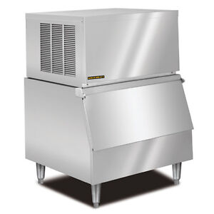 New KOLD-DRAFT Modular Ice Machine 320Lb Stainless Steel Half-Cube/Kublet GT360