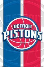 Detroit Pistons - Logo 2014 POSTER 57x86cm NEW * NBA Basketball Team symbol